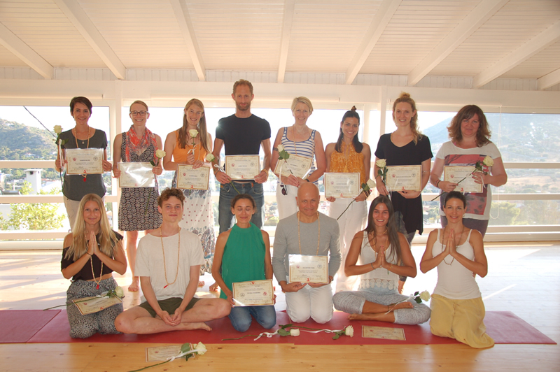 Yoga Alliance International Certified Teacher Training in Greece